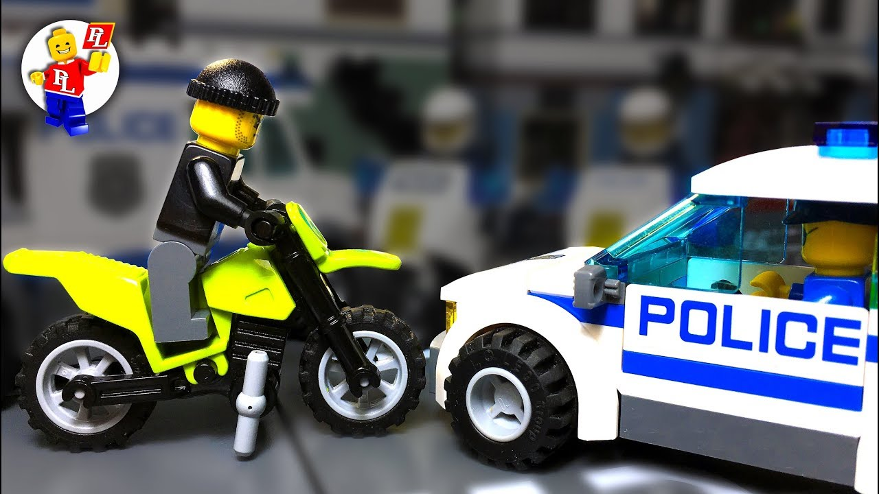 Lego Motorcycle Theft 🔴 Catch the Crooks