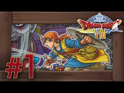 Dragon Quest 8 3DS Walkthrough Part 1 (English Gameplay) Intro & Farebury