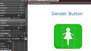 Silverlight 4: Creating Gender Button using Exp Blend 4