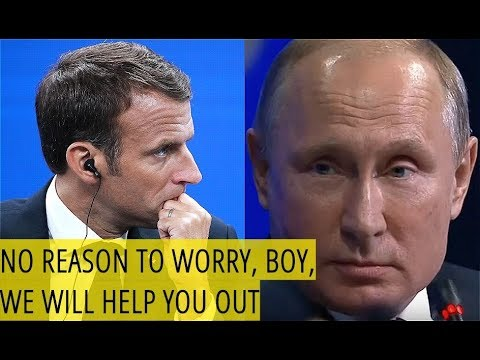 Putin Teases Macron: No Worries, Emmanuel, Russia Is Ready To Protect Europe!