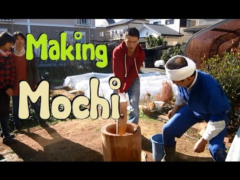 How To Make Mochi (pounded Rice) The Old Fashioned Way With Japanese Parents