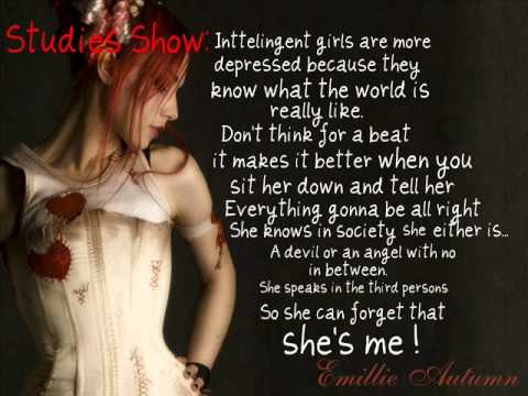 Emilie Autumn - Opheliac [Lyrics On Screen]