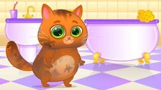 Eğlenceli Kedi ile Banyo Vakti Çocuk Videosu