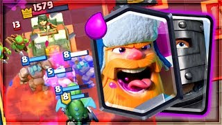 Clash Royale - LEADERBOARD CRUSHING DECK...