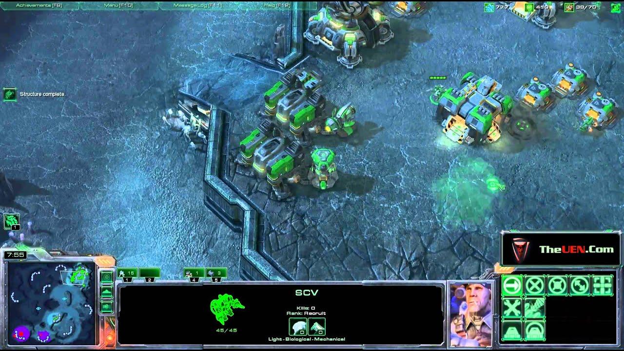 Starcraft 2 1v1 Master Live Commentary by Scvrush (Terran vs Zerg)