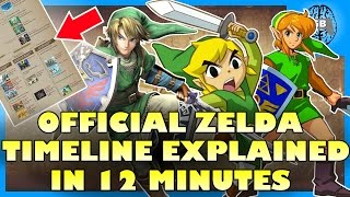 The Legend of Zelda Timeline EXPLAINED (in 12 Minutes)