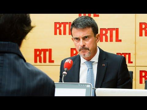 Manuel Valls était l'invité de RTL le 3 octobre 2017