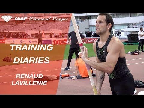 Training Diaries Shanghai 2018: Renaud Lavillenie