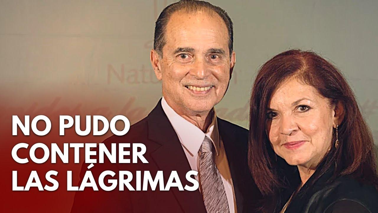 Esposa de FRANK SUÁREZ recuerda a su marido entre lagrimas