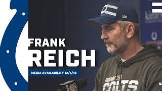 Frank Reich Postgame Press Conference: Colts vs. Titans