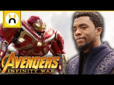 Avengers Arrive in Wakanda Scene Revealed | Avengers Infinity War thumbnail