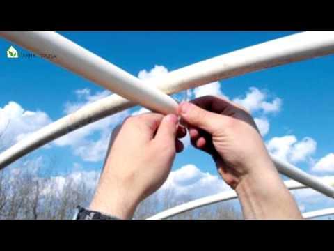 видео: Как сделать теплицу из политкарбоната своими руками