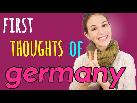 First Time in Germany: WHAT I THOUGHT