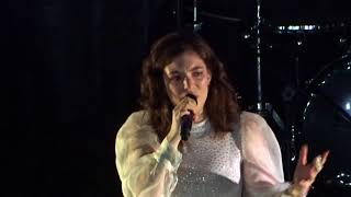 Lorde - Liability + Reprise (w/ full speech) - Live @ Palladium, Cologne - 10/2017