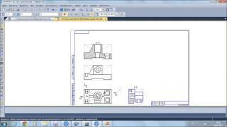 видео 18.Оформление чертежей. Типы разрезов.