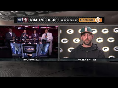 Inside the NBA: Aaron Rodgers Joins The Inside Guys Live