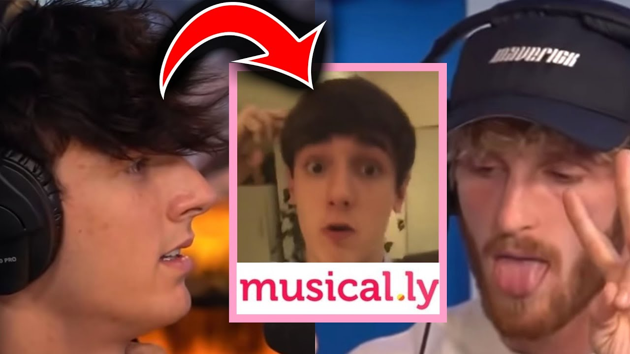 BRYCE HALL REACTS TO HIS OLD MUSICAL.LY VIDEOS  *cringe*