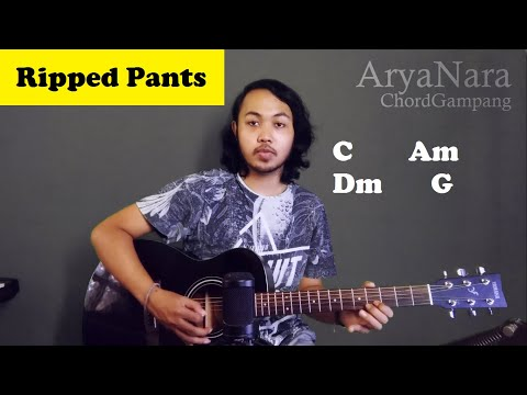 Chord Gampang (Ripped Pants Spongebob) by Arya Nara (Tutorial Gitar) Untuk Pemula