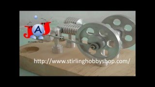 Cool Stirling Engine Stirlingmotor Heißluftmotor Moteur de Stirling