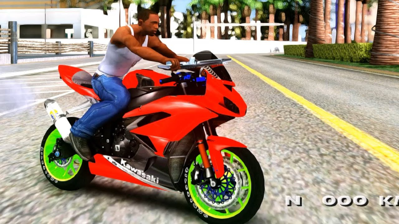 Kawasaki Ninja Zx R Boy From Anak Jalanan Gta San Andreas Mod Youtube