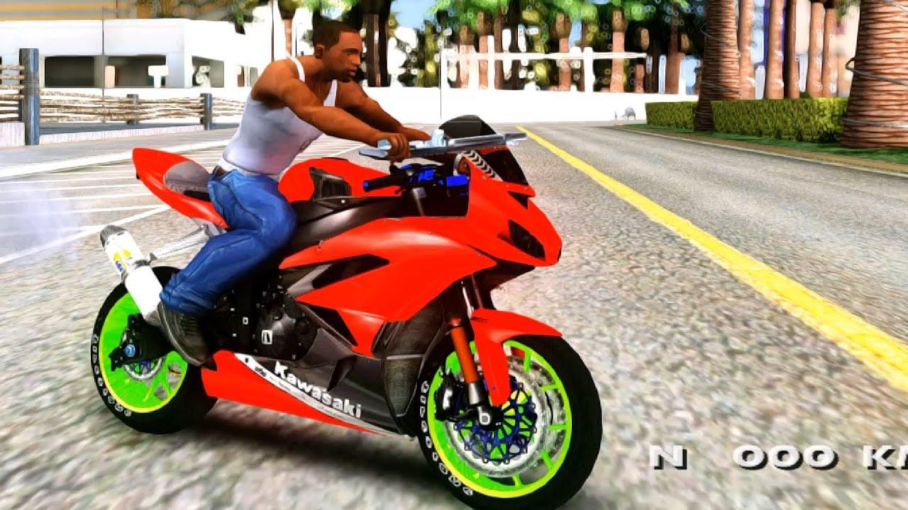 Kawasaki Ninja Zx 6R Boy From Anak Jalanan GTA San Andreas MOD