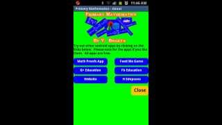 Primary Mathematics Android Application