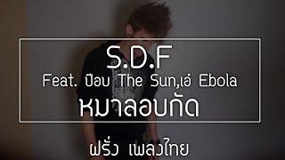 S.D.F Feat. ป๊อบ The Sun,เอ๋ Ebola - หมาลอบกัด Farang karaoke cover ฝรั่ง เพลงไทย