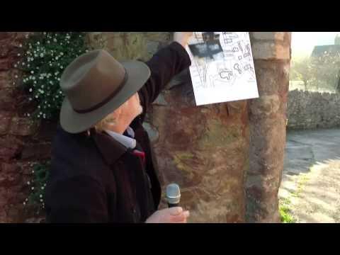 Dig Village Dunster Videoblog 8 - A walk around the priory
