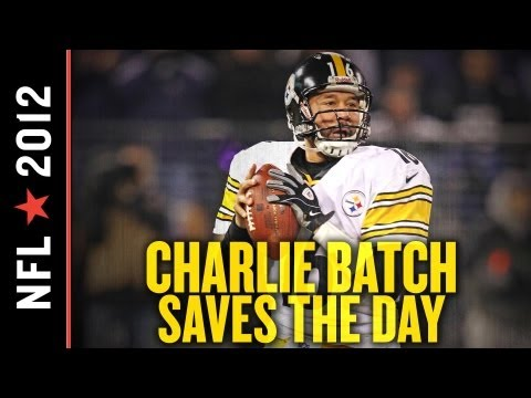 Steelers Film Room: Charlie Batch Saves Day, and Perhaps Pittsburgh