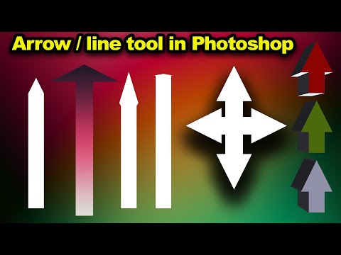 Arrow Line Tool In Photoshop How-to Tutorial