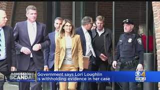 Lori Loughlin Accused Of Withholding Evidence In College Scam Case
