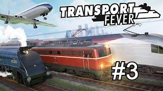 Transport Fever - Wie funktioniert das nun mit den neuen Produktionslinien? #3 [GERMAN] [Let's Play]