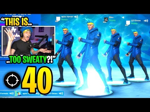 We created a NINJA SKIN squad and got our HIGHEST KILL RECORD in Fortnite... (amazing)