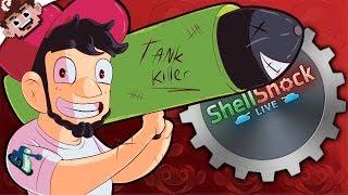 THE TANK SLAYER! | BIG Guns BIGGER Damage! (Shellshock Live w/ Friends)