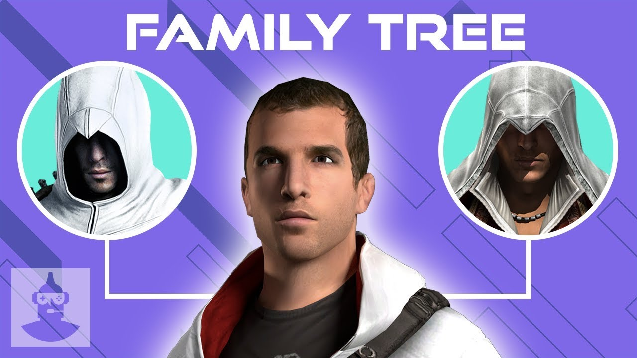 Assassin S Creed Family Tree Explained Desmond Miles The