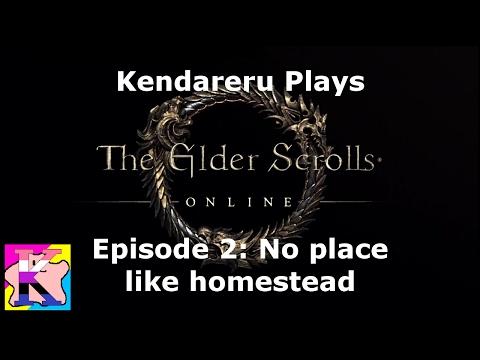 Let's Play: The Elder Scrolls Online   Episode 2 - No place like Homestead