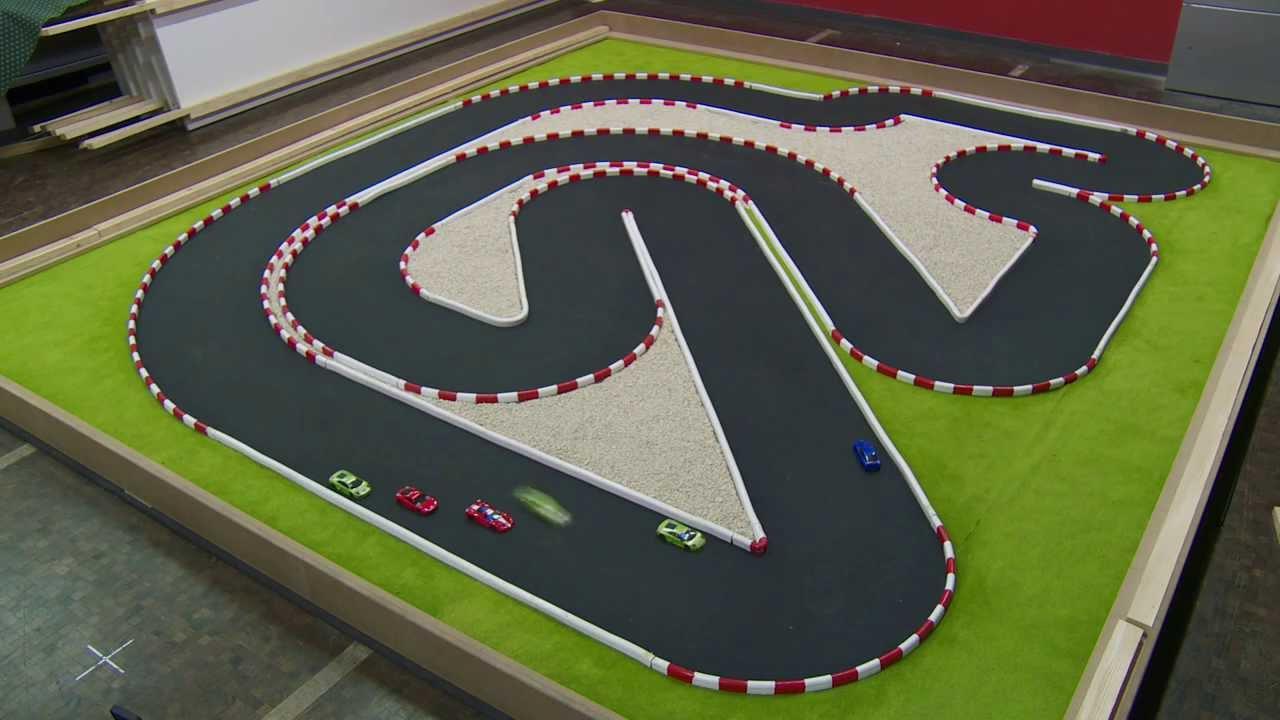 Rc Car Track: Model Predictive Contouring Control For 1:43 RC