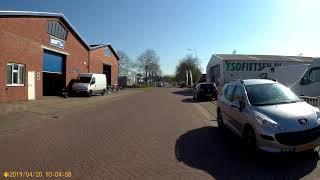 Countryside Cycling Part 1/5 (Korreweg Groningen-Eemskanaal Noordzijde Garmerwolde) 20-04-19