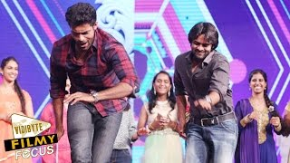 varun-tej-sai-daram-tej-dance-steps-at-mega-star-chiranjeevi-60th-birthday-celebrations