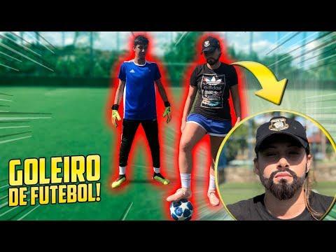 O JOGO DO GOLEIRO E DA IRMÃ!! - ( GOLEIRO DE FUTEBOL ) #16