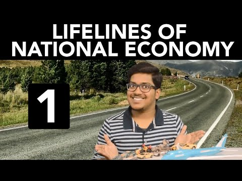 Geography: Lifelines of National Economy (Part 1)