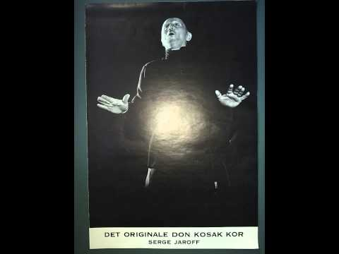 1961-ii-5 Don Cossack Choir (Don Kosak kor) of Serge Jaroff reel 1.2 (AUDIO ONLY)