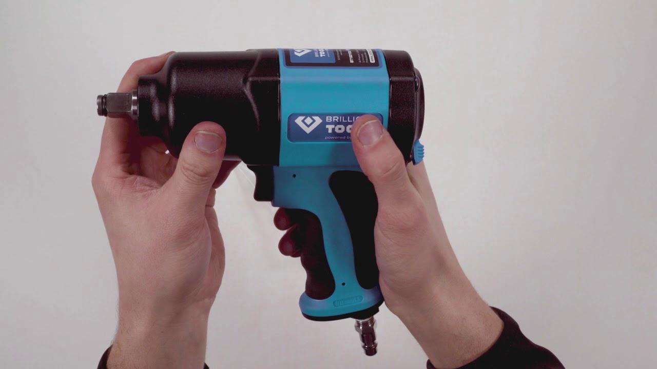 3//4, 1800 NM BRILLIANT TOOLS BT160200 KS Tools-Atornillador de Impacto