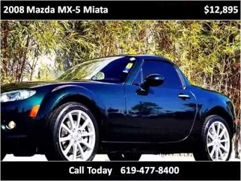 2008 Mazda MX-5 Miata Used Cars national city ca