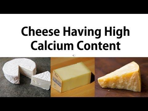 Top 10 Cheese having High Calcium Content