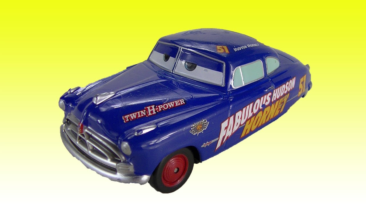 cars 2 hudson hornet disney toy diecast doc hudson youtube. Black Bedroom Furniture Sets. Home Design Ideas
