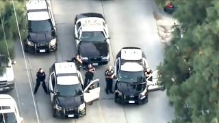 Crazy Police Chase In Los Angeles