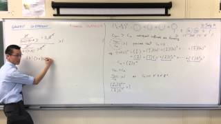 Finding & Evaluating the Greatest Coefficient (example question)