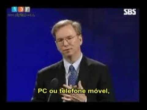 Eric Schmidt, Web 2.0 vs. Web 3.0 (legenda em português)