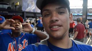 I GOT FREE TICKETS TO A METS GAME !!! (insane security)